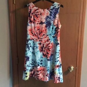 Simple but classy floral dress